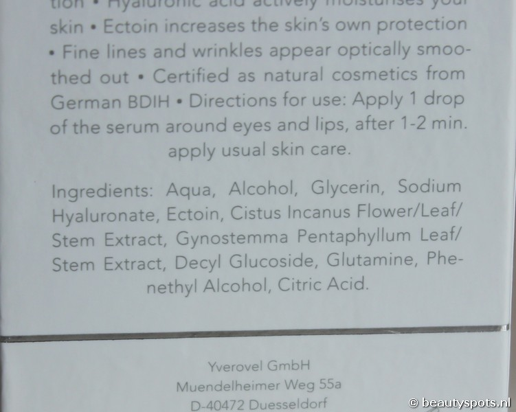 Yverum Hyaluron Eye and Lip Serum