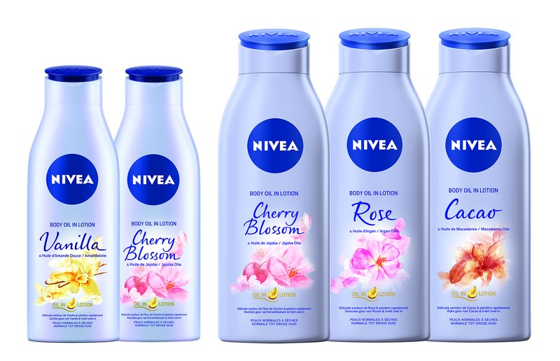 NIVEA Body Olie in Lotion