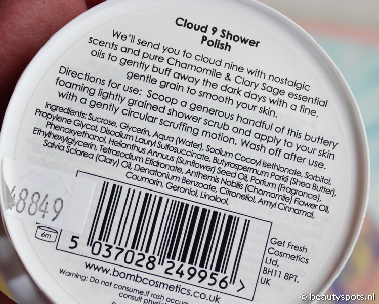 Bomb Cosmetics Cloud 9 Body Polish