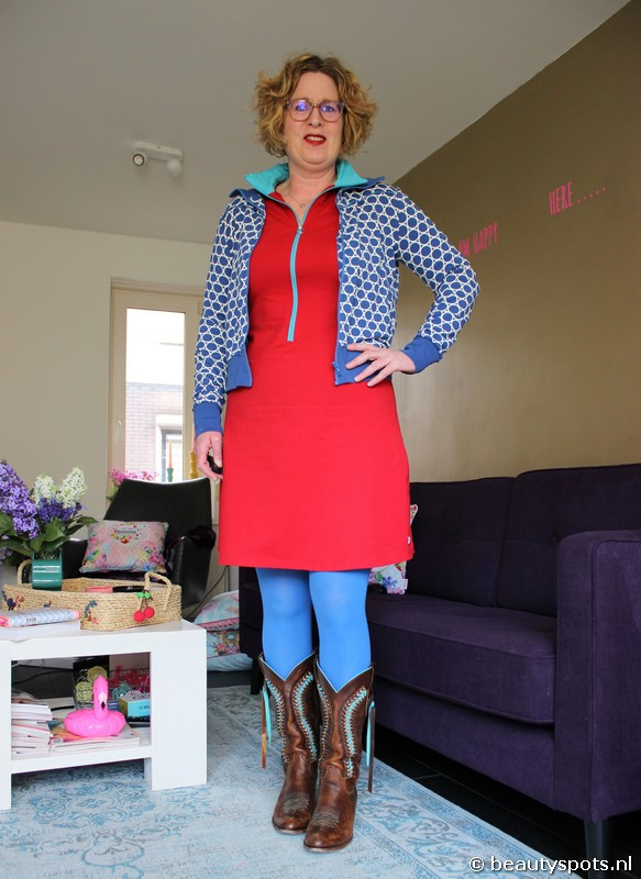 Tante Betsy Sporty Dress Red