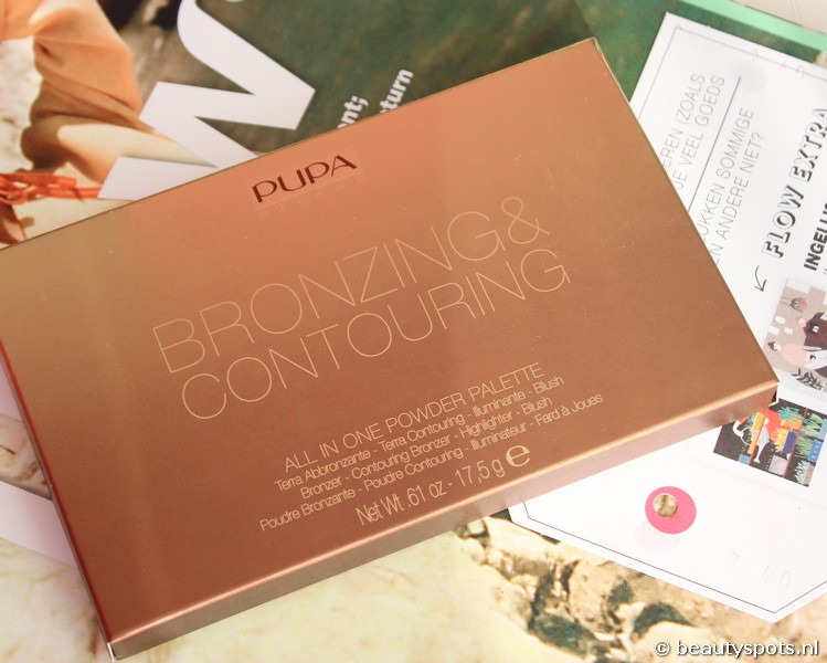 Pupa Bronzing & Contouring Palette