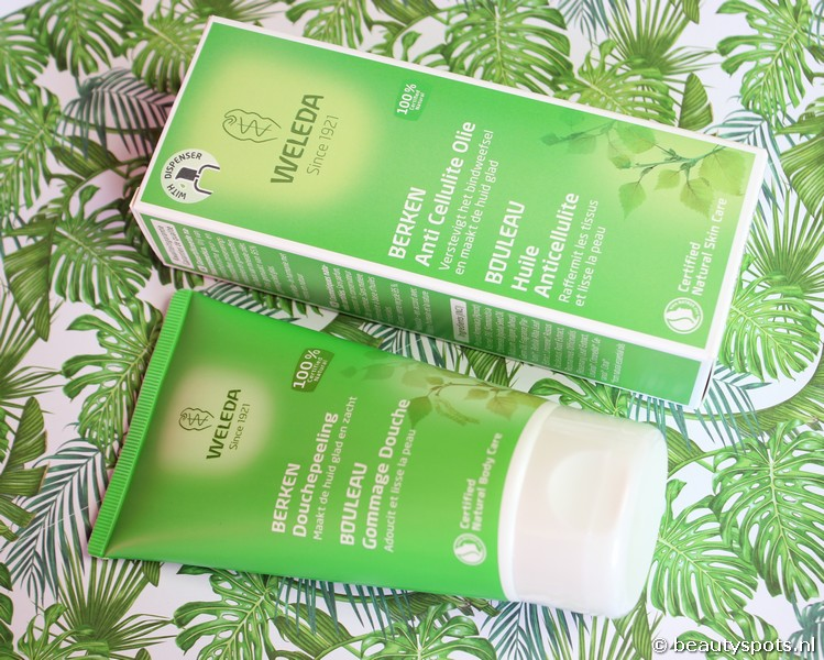 Weleda Berken Anti Cellulite Olie