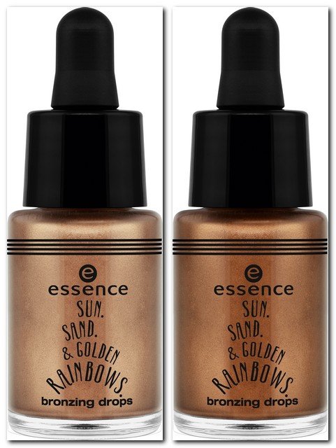essence sun, sand & golden rainbows
