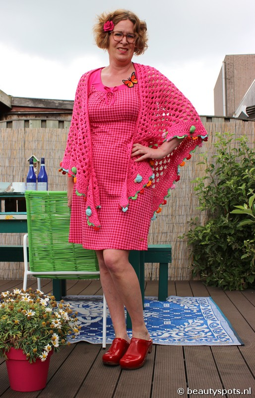 Tante Betsy Dress Josephine Houndstooth