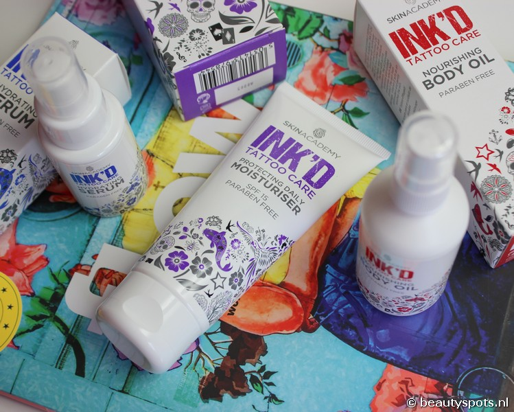 SkinAcademy Ink'D Tattoo Care