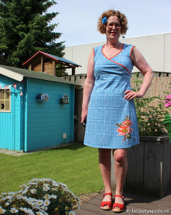 Tante Betsy Dress Summer Cross Hatch