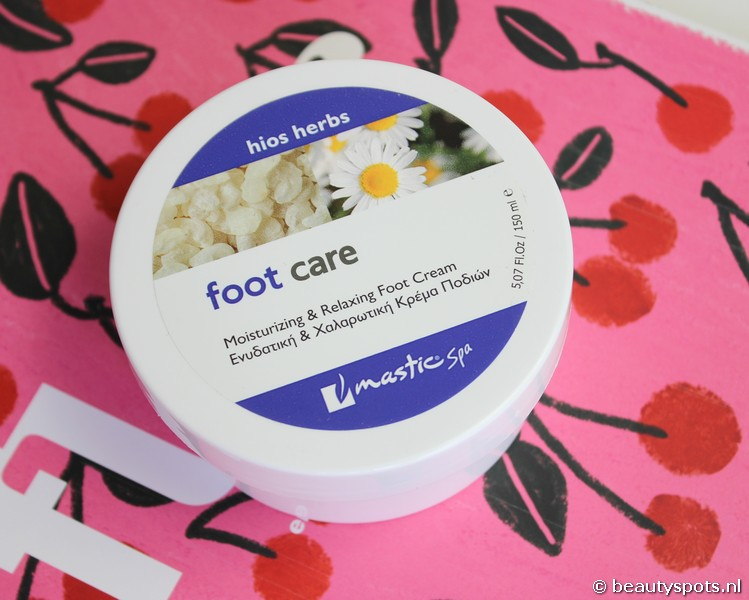 Mastic Spa Foot Cream