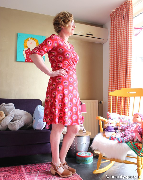 Tante Betsy Dress Tango Frida Red