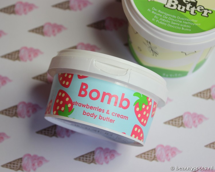 Bomb Cosmetics Strawberry & Cream Body Butter