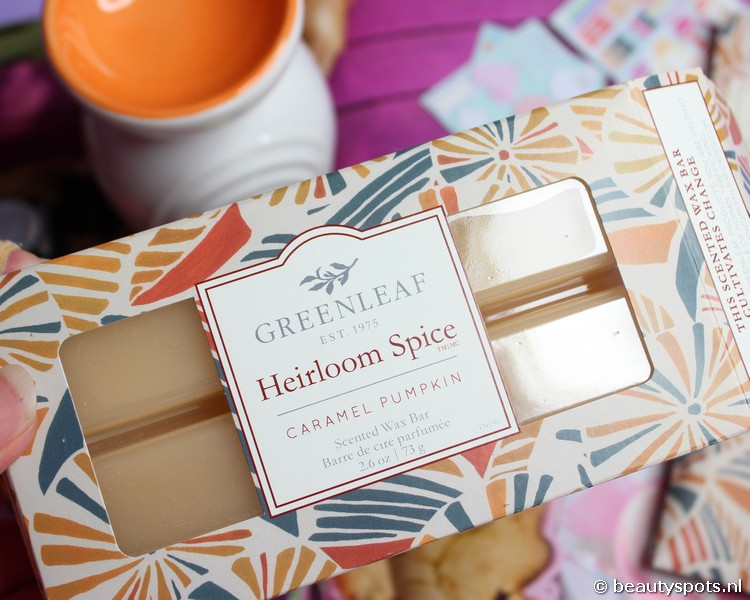 Greenleaf Heirloom Spice Caramel Pumpkin