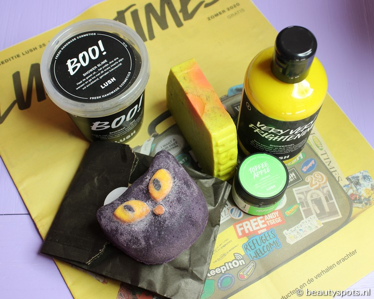 Review Lush Halloween