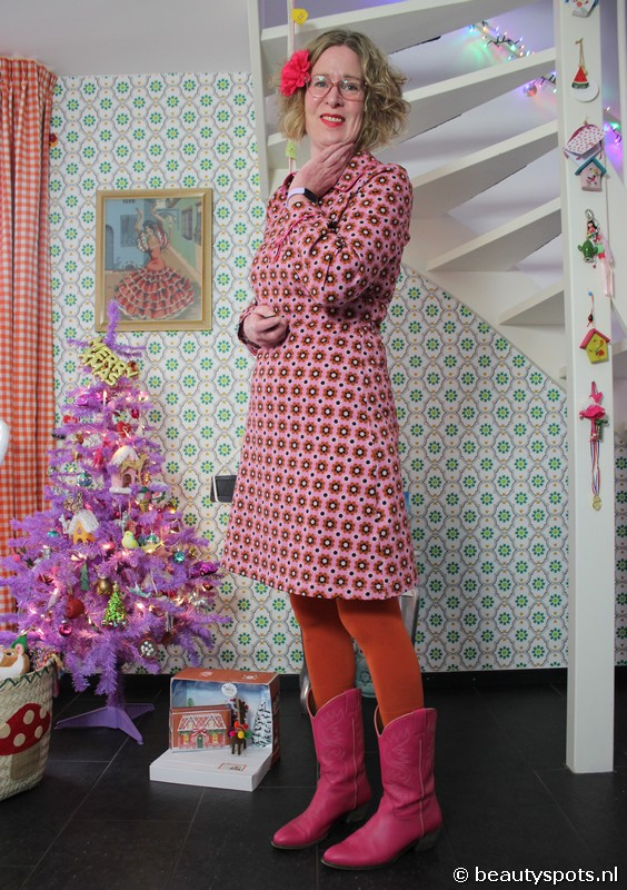 Tante Betsy Dress Mies Blumchen Pink